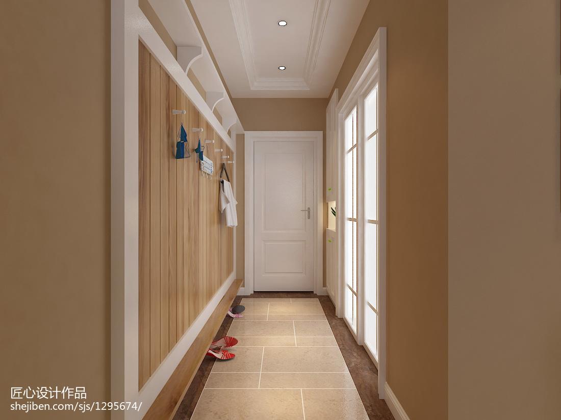 面积87平混搭二居客厅装修图