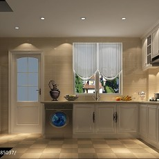 2018精选三居厨房欧式装修效果图片