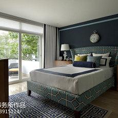 热门美式别墅卧室装饰图片大全