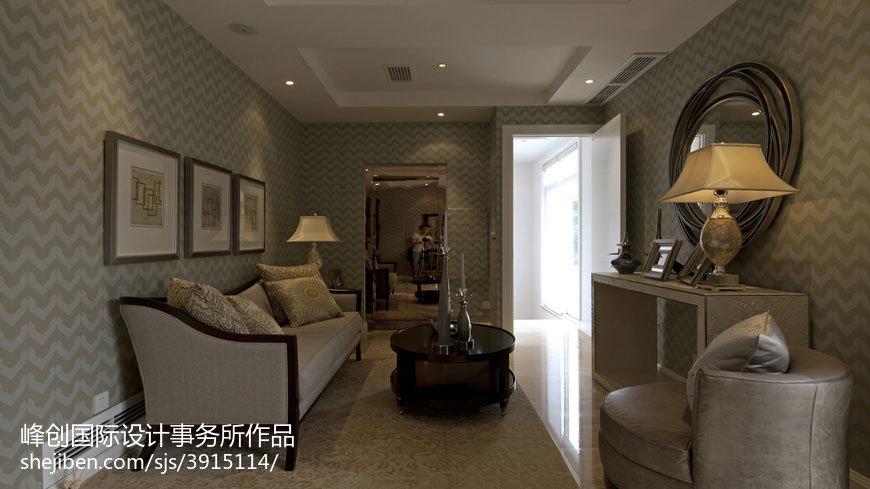 别墅休闲区美式装修效果图片欣赏