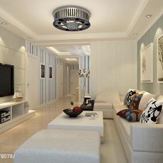 现代简约风格别墅地下室装修图片