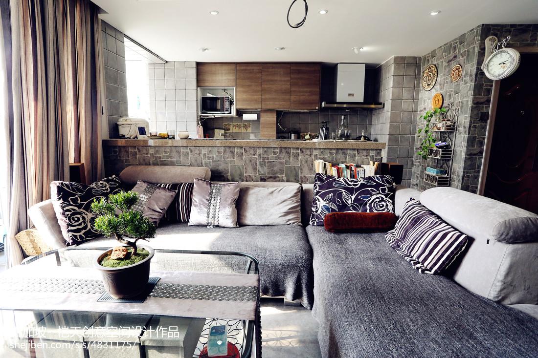 小户型现代客厅装修设计