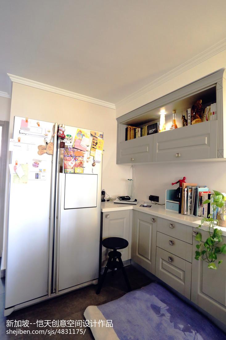 小户型现代厨房装修图片