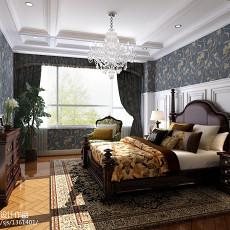 精选面积132平别墅卧室欧式装修设计效果图