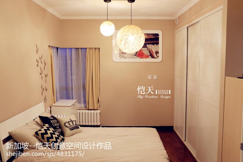 現代風格臥室飄窗圖片