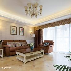 优美72平现代三居客厅装修美图