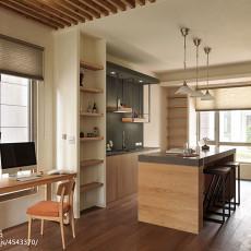 精选面积128平别墅餐厅混搭装修设计效果图片