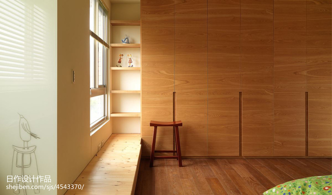 精美136平方混搭别墅卧室装修图片欣赏