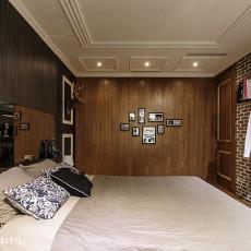 精美面积72平混搭二居卧室欣赏图片大全