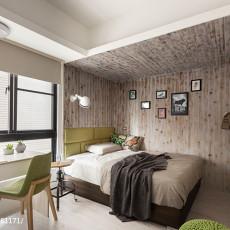 精选100平米三居卧室混搭设计效果图