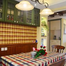 精选108平方三居餐厅美式设计效果图