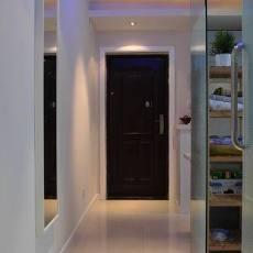 76平米现代小户型玄关装修效果图片欣赏
