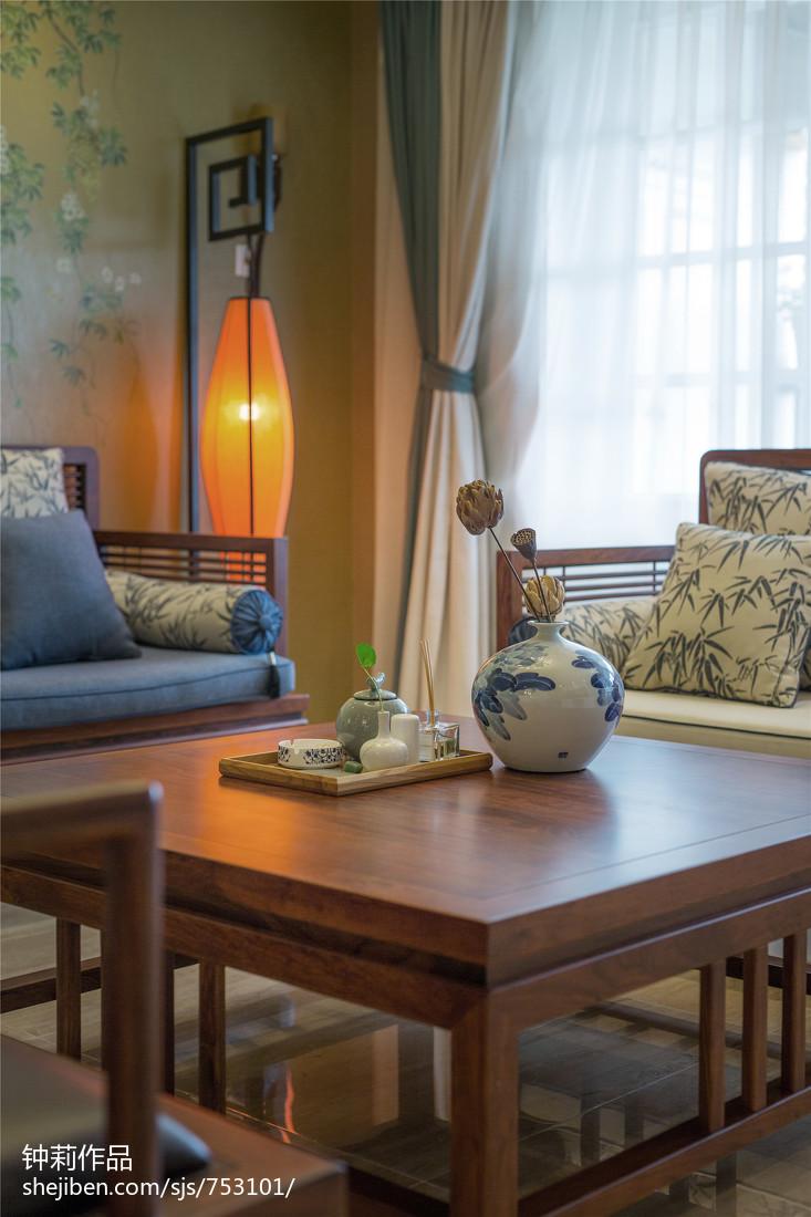 热门121平米混搭复式客厅装修设计效果图片大全
