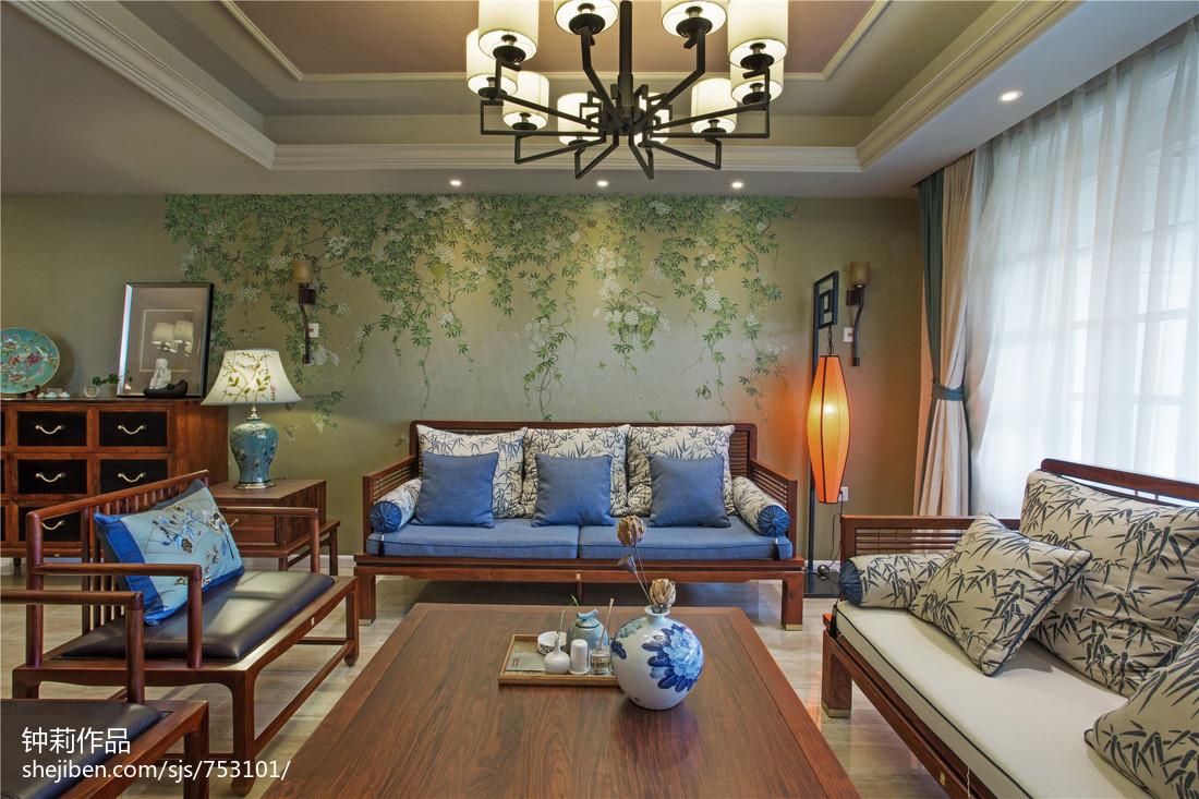 热门面积111平复式客厅混搭装修图片大全