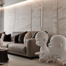 热门107平米三居客厅新古典装饰图片