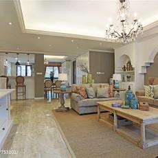 精选134平方四居客厅美式实景图片欣赏