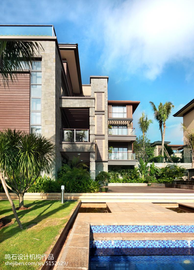 精选131平米中式别墅花园装饰图片