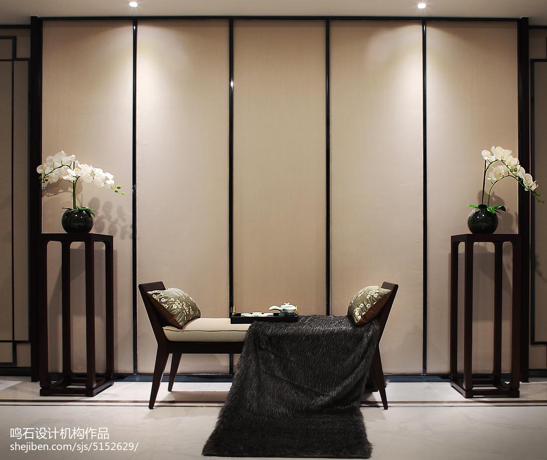 精美114平米中式别墅客厅装饰图片