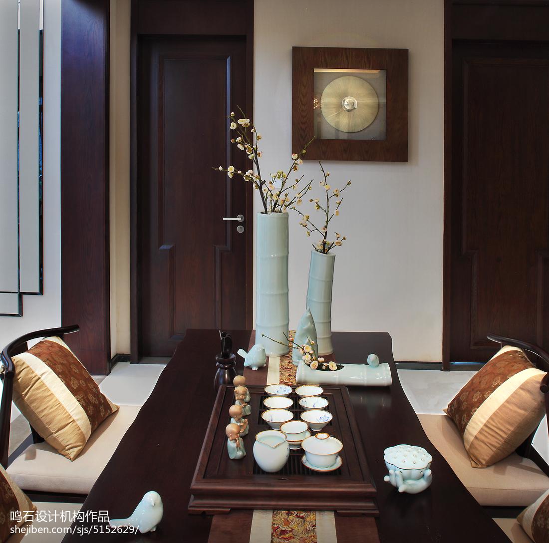 精致222平中式别墅客厅装修图片