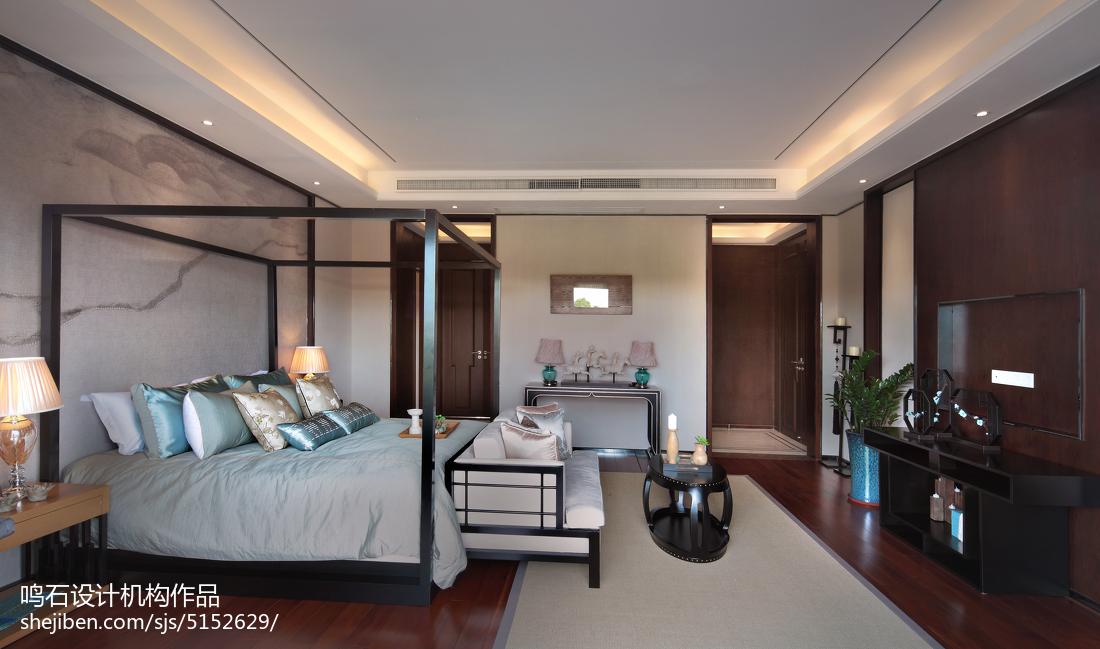 中式风格卧室装修效果图片欣赏