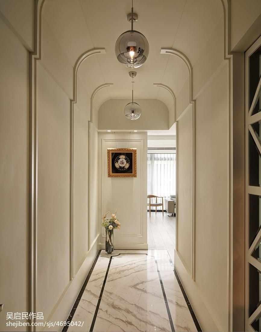 267平住宅美式玄關設計
