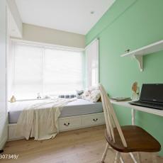 热门95平米三居书房混搭装修欣赏图