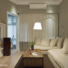 精选108平米三居客厅美式装修实景图片