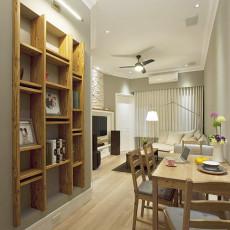 精美面积101平美式三居餐厅装修欣赏图片大全