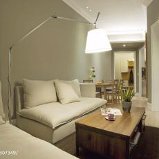 热门90平方三居客厅美式实景图片大全