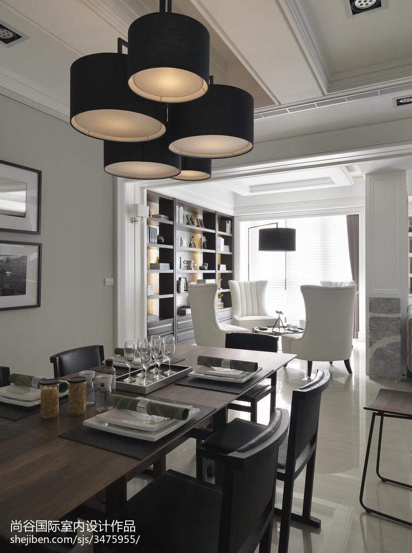 热门欧式餐厅装修设计效果图片欣赏