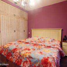 热门105平米三居卧室地中海实景图片