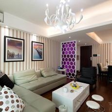 热门91平米三居客厅现代装修欣赏图