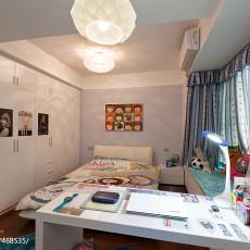 2018精选面积95平现代三居儿童房装修设计效果图片