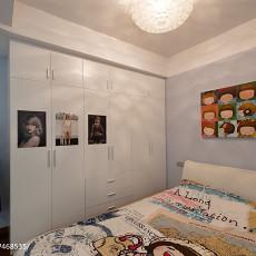 2018精选97平方三居卧室现代装修设计效果图片大全