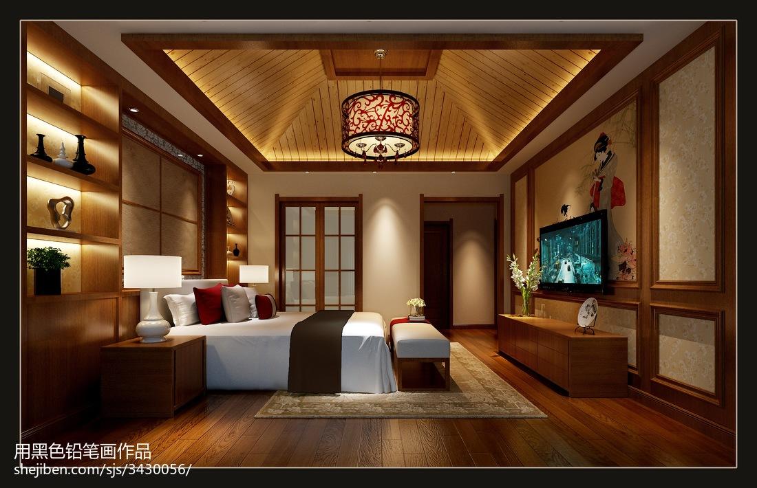 地中海风格装修卧室图片欣赏