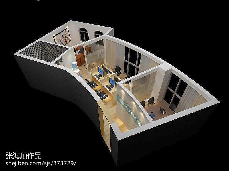地中海风格8平米客厅装修图片