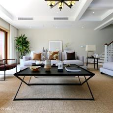 133平米现代别墅客厅装修设计效果图片