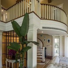 精选面积137平别墅客厅美式效果图片欣赏