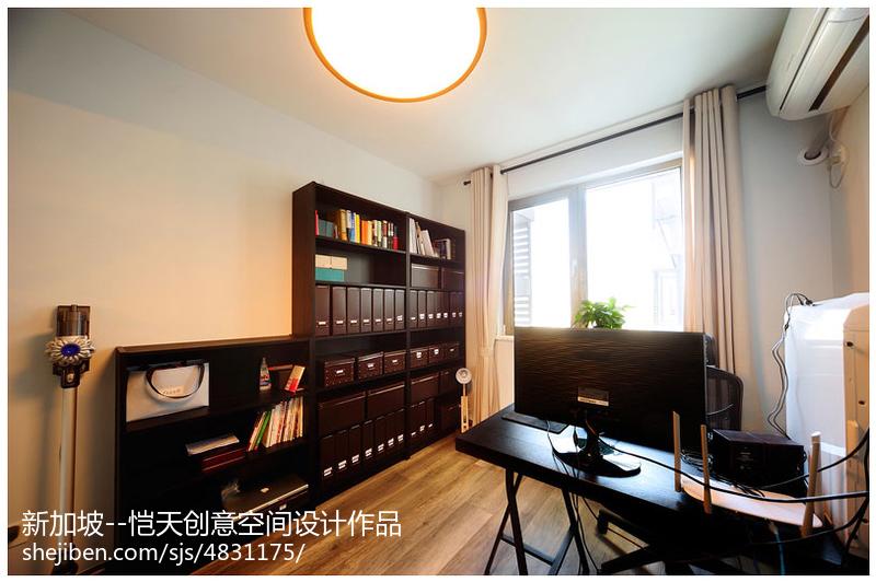 现代风格书房装修效果图片欣赏