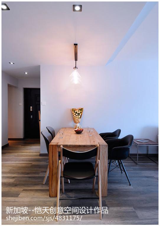 现代风格餐厅装修效果图片大全欣赏