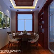 热门75平米二居餐厅中式装修图片