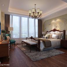 2018大小138平美式四居卧室装修设计效果图片