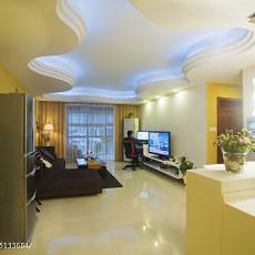 精美面积84平现代二居客厅装修设计效果图片