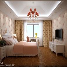 精选面积113平别墅卧室欧式装修图片欣赏