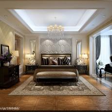 大小137平别墅卧室欧式装修欣赏图片