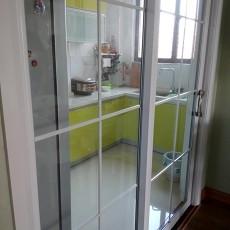 精选75平米二居厨房现代装修实景图片大全