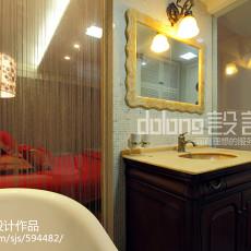 精美134平米四居卫生间现代效果图片欣赏