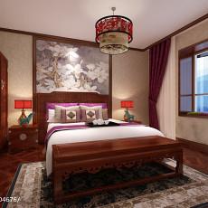 四居卧室中式装饰图片欣赏