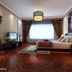精美四居卧室中式装修实景图