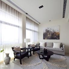 精美100平米三居休闲区现代装修实景图